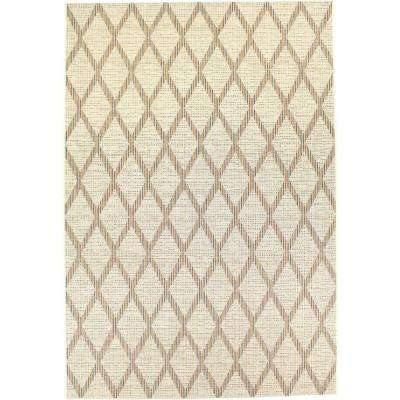 Veranda Ivory 7 ft. x 10 ft. Indoor/Outdoor Area Rug