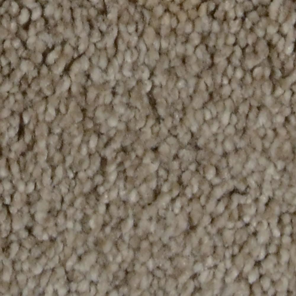 Carpet Sample - Sandy Beach II - Color Crosswinds Texture 8 in. x 8 in.