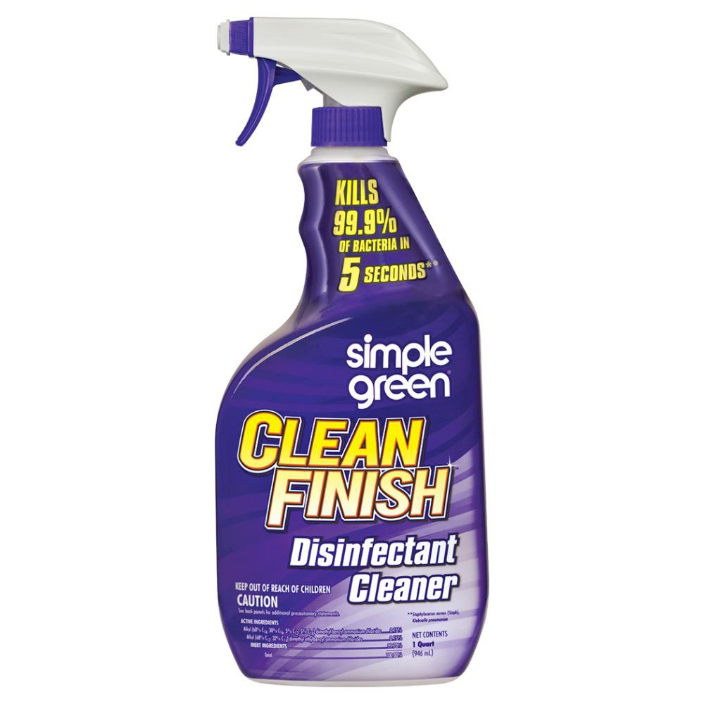Simple Green 32 Oz Clean Finish Disinfectant Cleaner