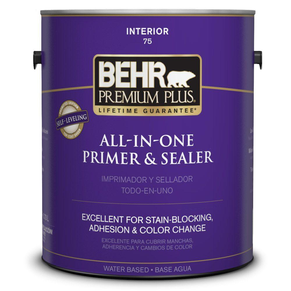 BEHR Premium Plus 1 gal. Stain-Blocking Interior Primer and Sealer
