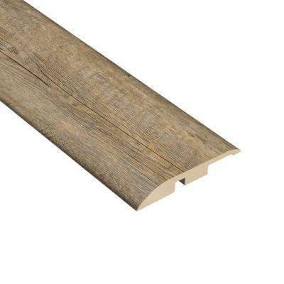 Pine Winterwood 3/8 in. Thick x 1-3/4 in. Wide x 94-1/2 in. Length Vinyl Multi-Purpose Reducer Molding