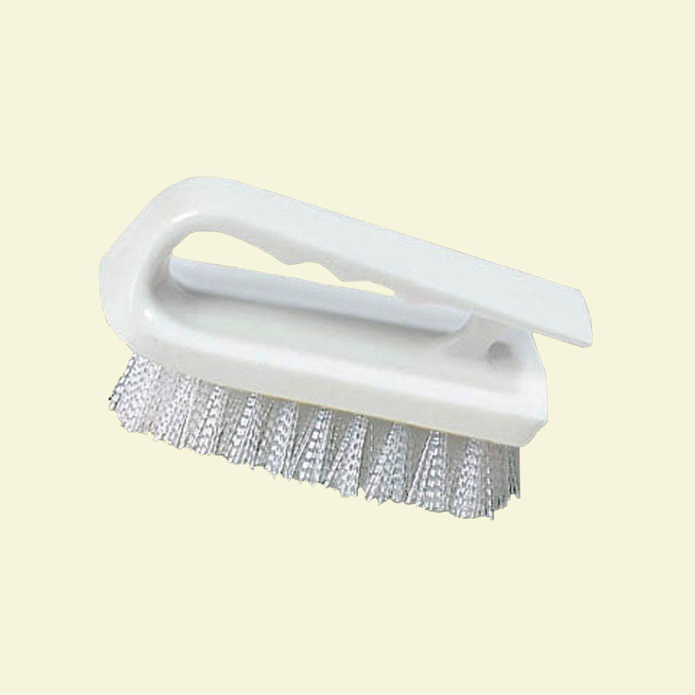 6 in. Polyester White Bake Pan Lip Brush (12-Pack)