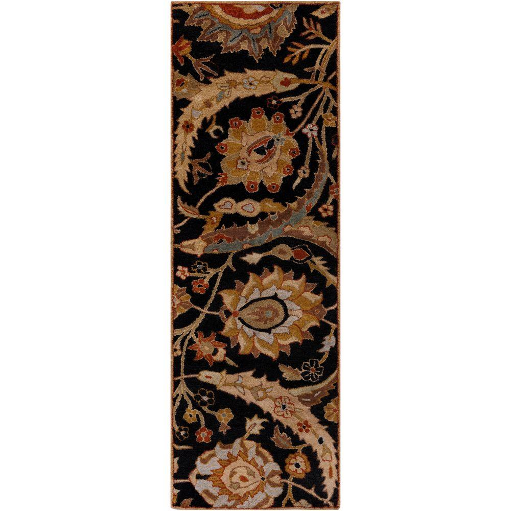 Afonso Charcoal 2 ft. 6 in. x 8 ft. Indoor Rug
