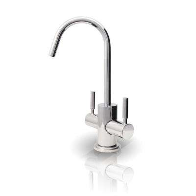 Arlington 2-Handle Instant Hot and Cold Reverse Osmosis Drinking Water Dispenser Faucet in Chrome