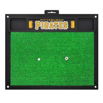 MLB - Pittsburgh Pirates 20 in. x 17 in. Golf Hitting Mat
