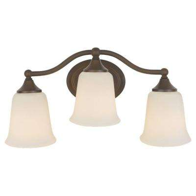 Claridge 3-Light Oil-Rubbed Bronze Vanity Light