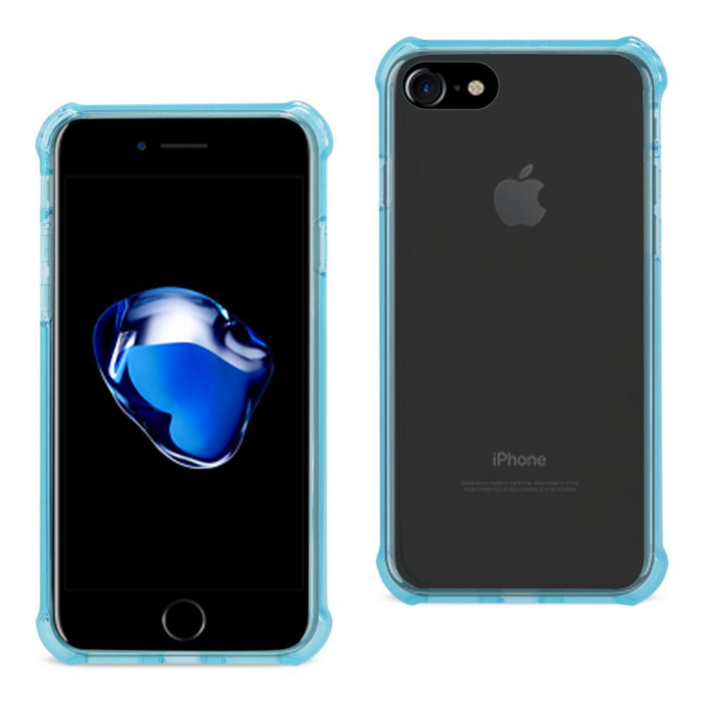 iPhone 7 Air Cushion Case in Clear Navy