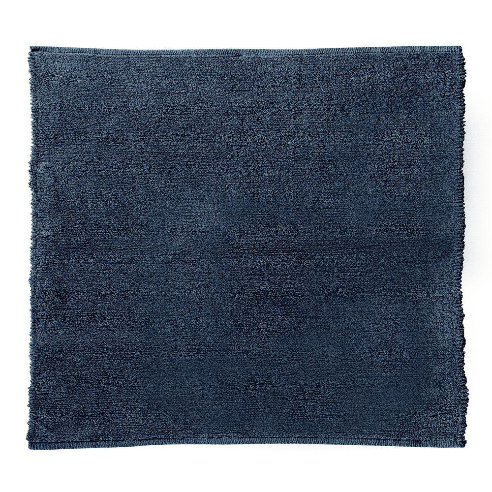 Home decorators collection royale chenille blue 8 ft for Home decorators rugs blue