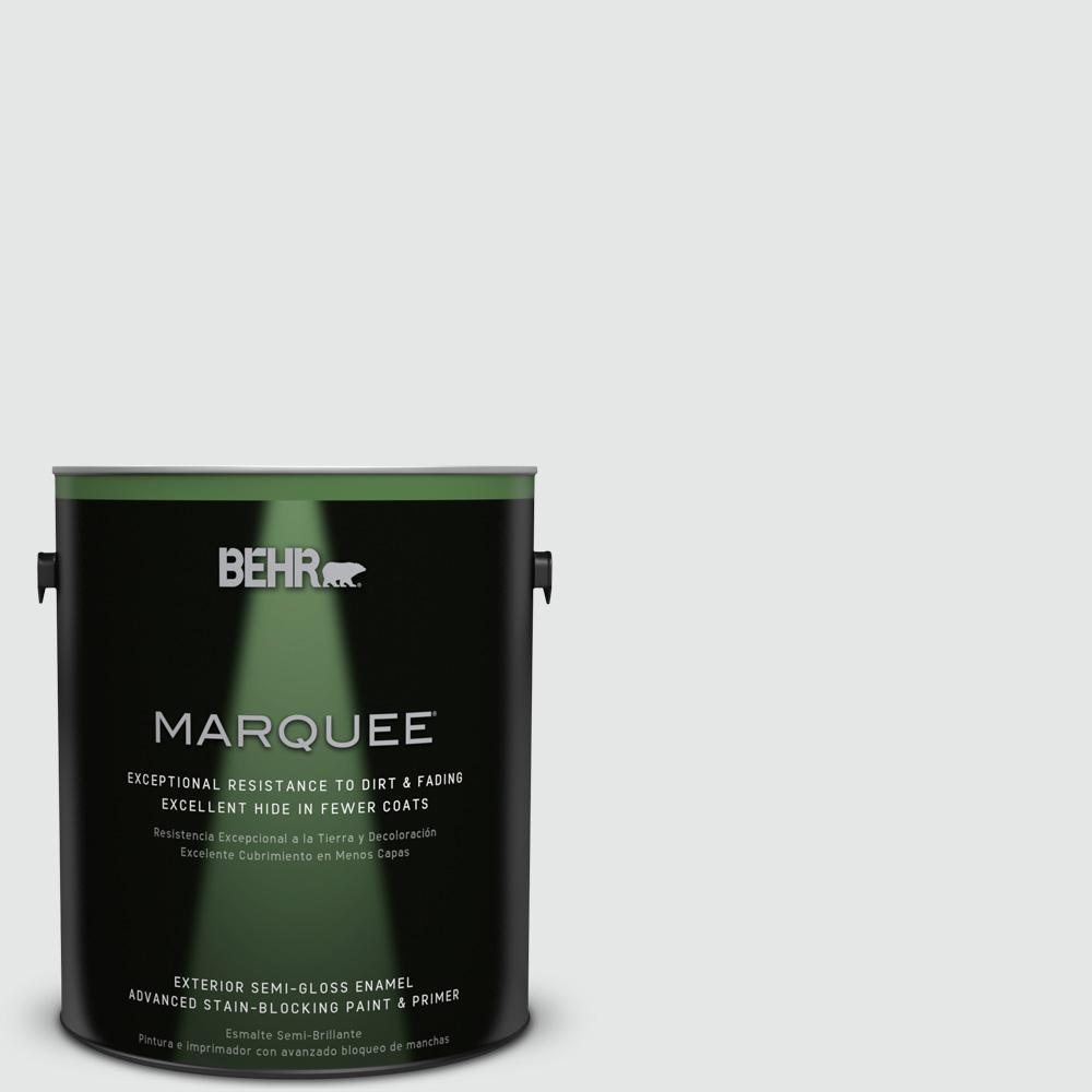 Behr Marquee 1 Gal 770e 1 Quietude Semi Gloss Enamel
