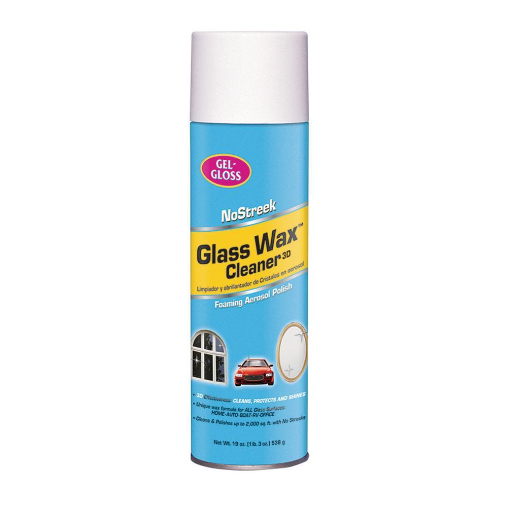 No Streek Glass Wax Cleaner 19 oz. Aerosol
