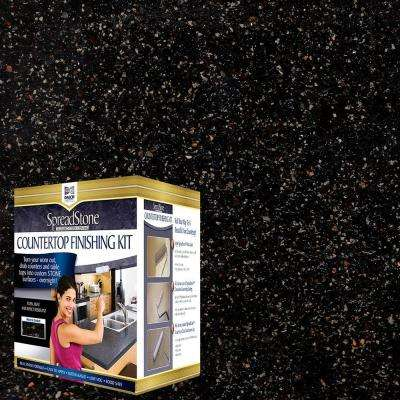Mineral Select 1 qt. Volcanic Black Countertop Refinishing Kit (4-Count)