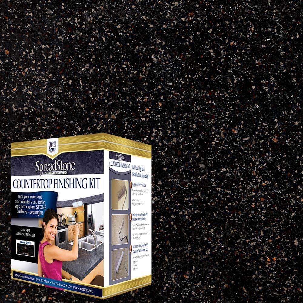 Volcanic Black Countertop Refinishing Kit (4 Count)