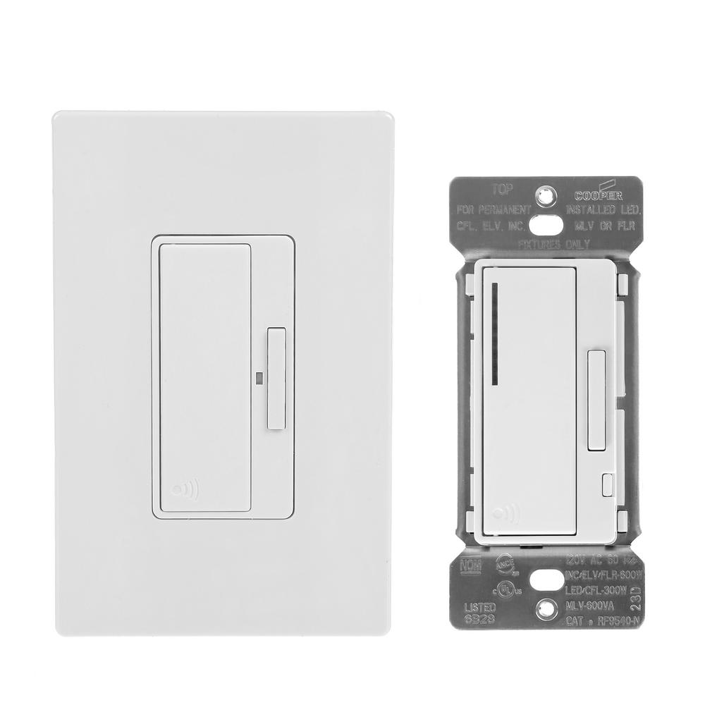 Eaton Z Wave Anyplace Kit Rf9575dw Decorator Switch And