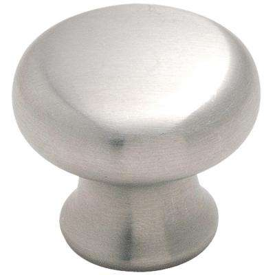 1-1/4 in. Stainless Steel Cabinet Knob