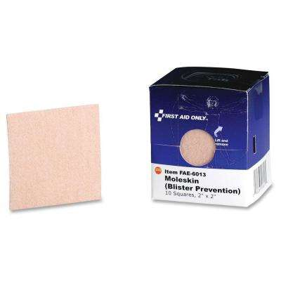 Moleskin/Blister Prevention Squares - 10/Box