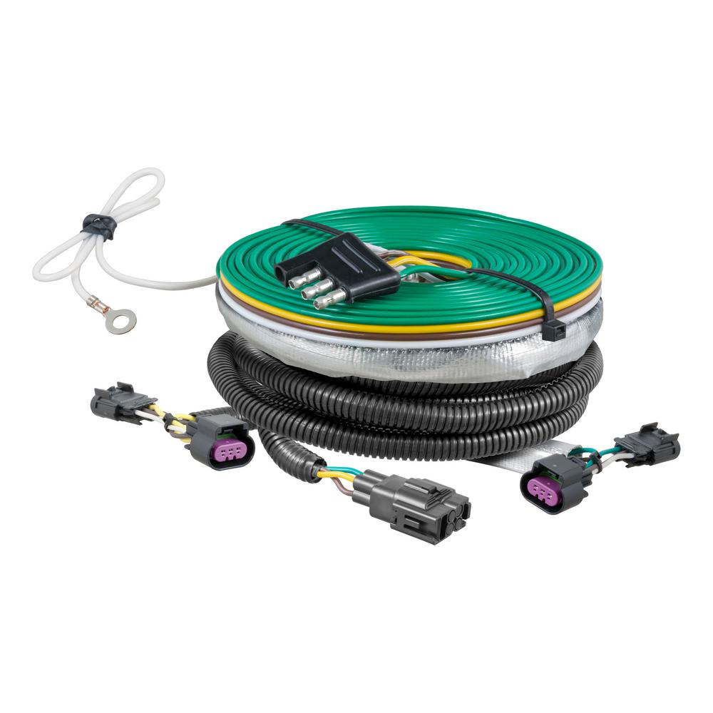 curt custom towed vehicle rv wiring harness 58932 the. Black Bedroom Furniture Sets. Home Design Ideas