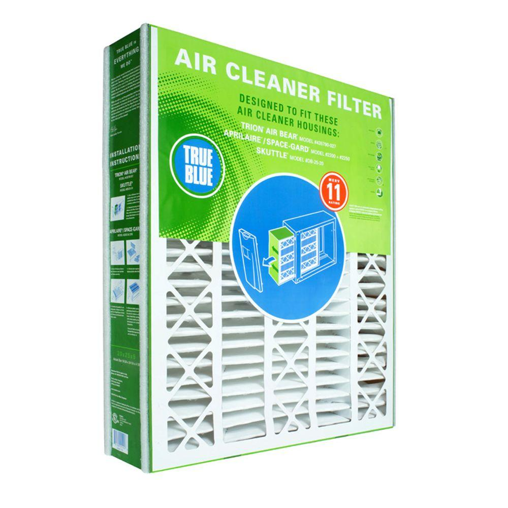 True Blue 16 in. x 25 in. x 5 in. Replacement Filter for Honeywell ...