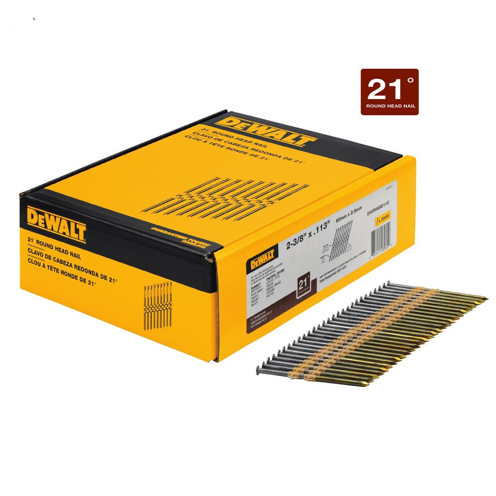 2-3/8 in. x 0.113 in. Metal Framing Nails (2000-Pack)