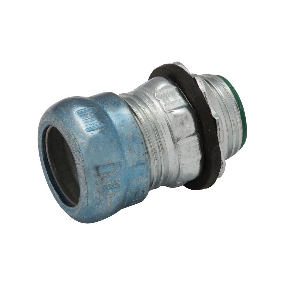RACO EMT 3/4 in. Insulated Raintight Compression Connector (25-Pack)
