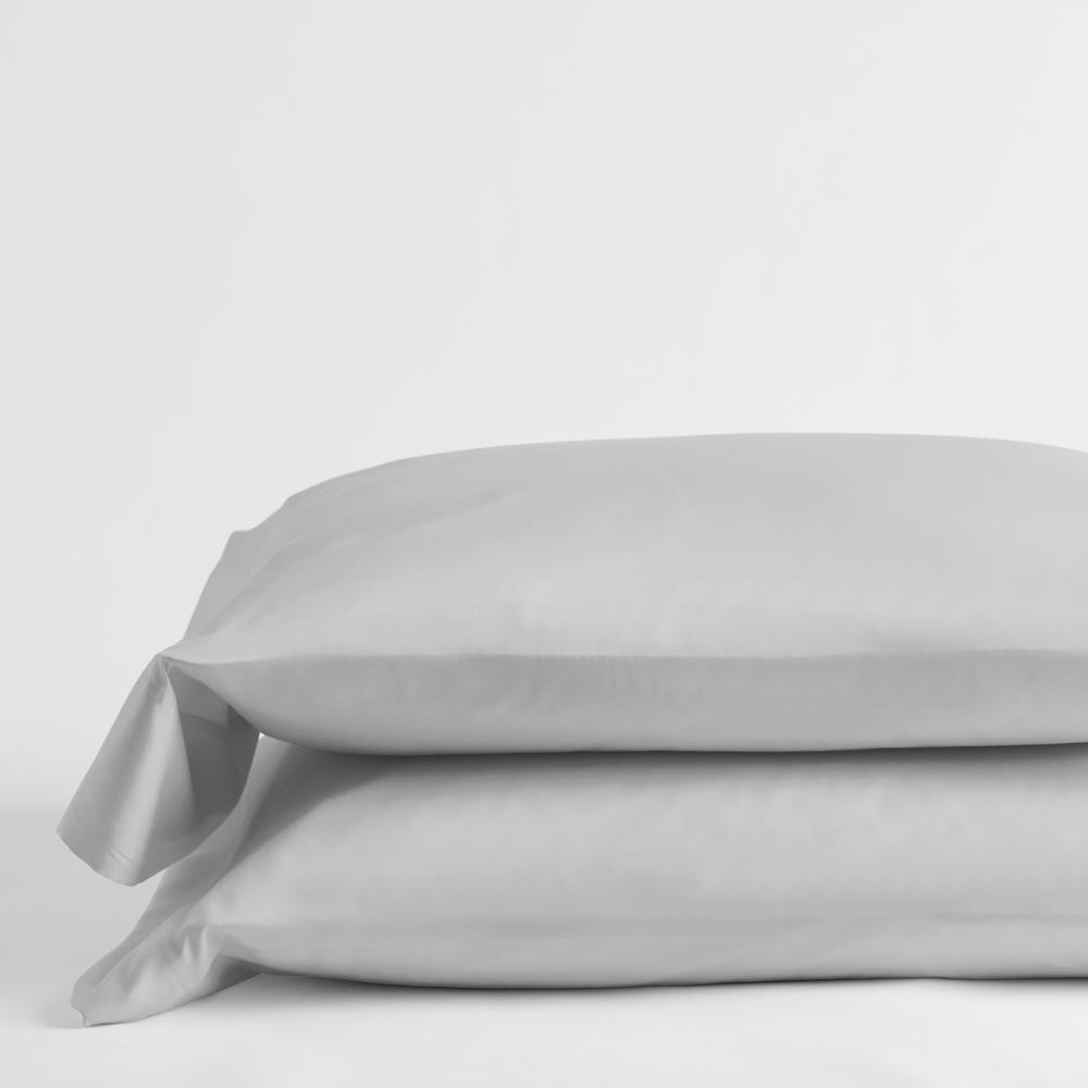 Legends Hotel Sterling 300-Thread Count TENCEL Lyocell Sateen Standard Pillowcase (Set of 2)