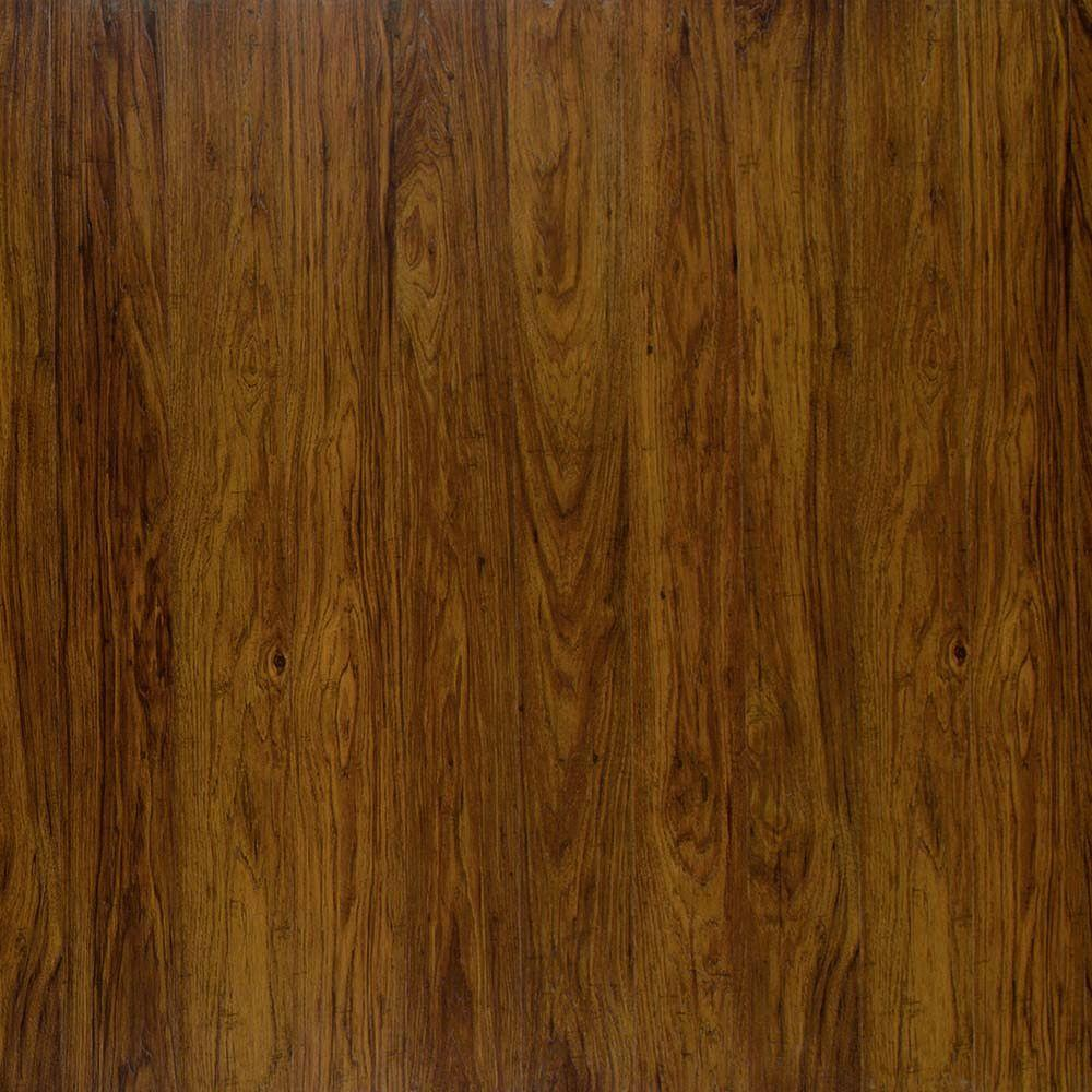 Who Installs Flooring For Home Depot: Home Decorators Collection Auburn Hickory 8 Mm Thick X 4-7