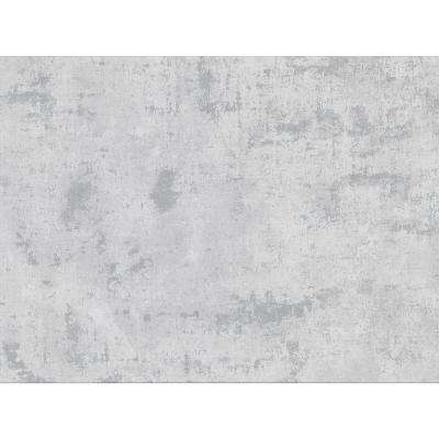 Quimby Grey Faux Concrete Paper Strippable Wallpaper (Covers 75.6 sq. ft.)