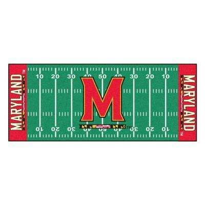 University of Maryland 2 ft. 6 in. x 6 ft. Football Field Runner