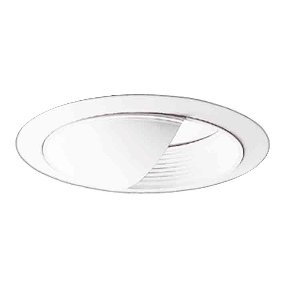 Awesome White Recessed Ceiling Light Baffle Wall Wash And Reflector