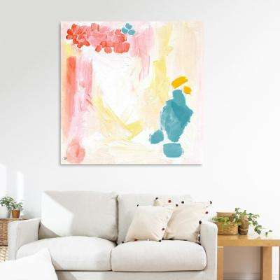 pink canvas art wall art the home depot