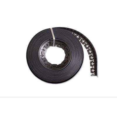 60 ft. Long x 2 in Depth x 1.5 in Height No Dig Edging Polyethylene with Extra Nails