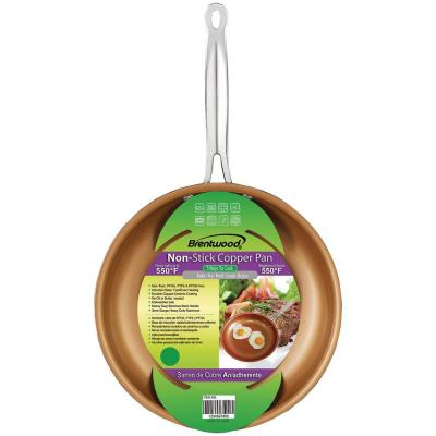 Copper Nonstick Induction Fry Pan