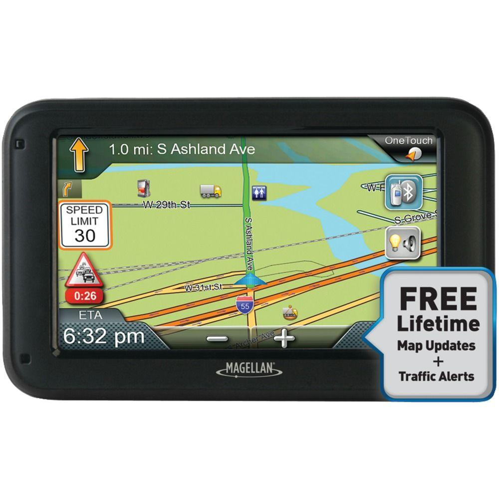 Magellan RoadMate Commercial 5370TLMB GPS Device