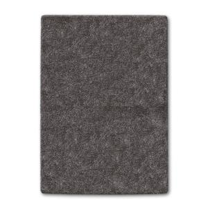 Home Legend Gray Color Shag 8 ft. x 10 ft. Area Rug by Home Legend