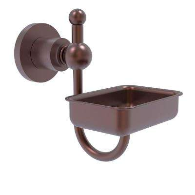 Astor Place Wall Mounted Soap Dish in Antique Copper