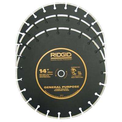 14 in. Diamond Blade (3-Pack)