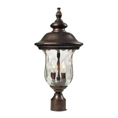 Lafayette 2-Light Outdoor Regal Bronze Post Light