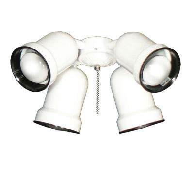 463 Spotlight Pure White Indoor/Outdoor Ceiling Fan Light