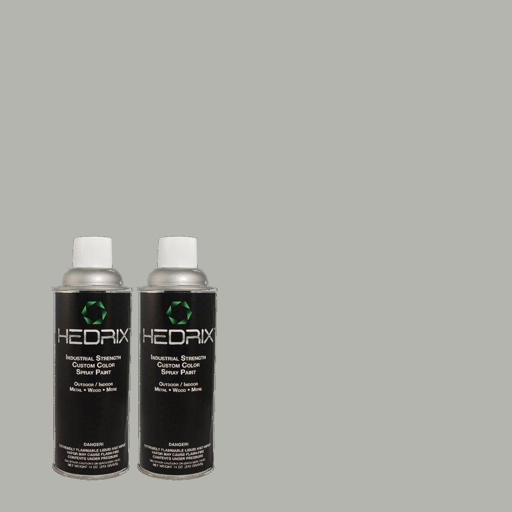 Hedrix 11 oz. Match of 3A54-3 Welsh Coast Semi-Gloss Custom Spray Paint (2-Pack)