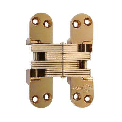 Attirant 1 1/8 In X 4 39/64 In. Satin Brass