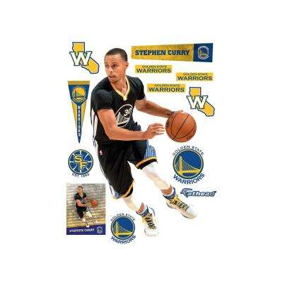 76 in. H x 43 in W Stephen Curry Point Guard Wall Mural