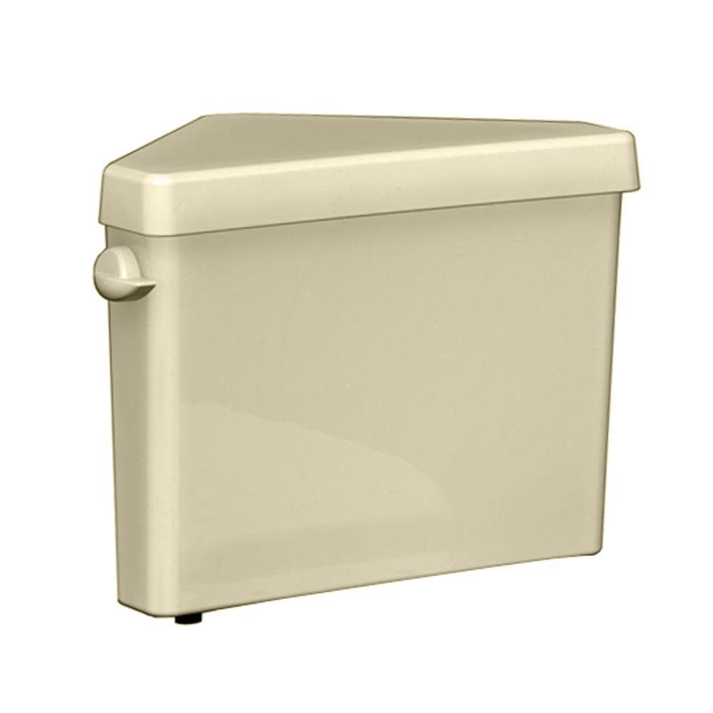 Triangle Cadet Pro 1.6 GPF Single Flush Toilet Tank Only in Bone