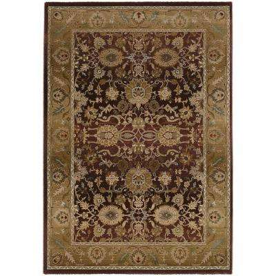 Poise Plum 4 ft. x 5 ft. 9 in. Area Rug