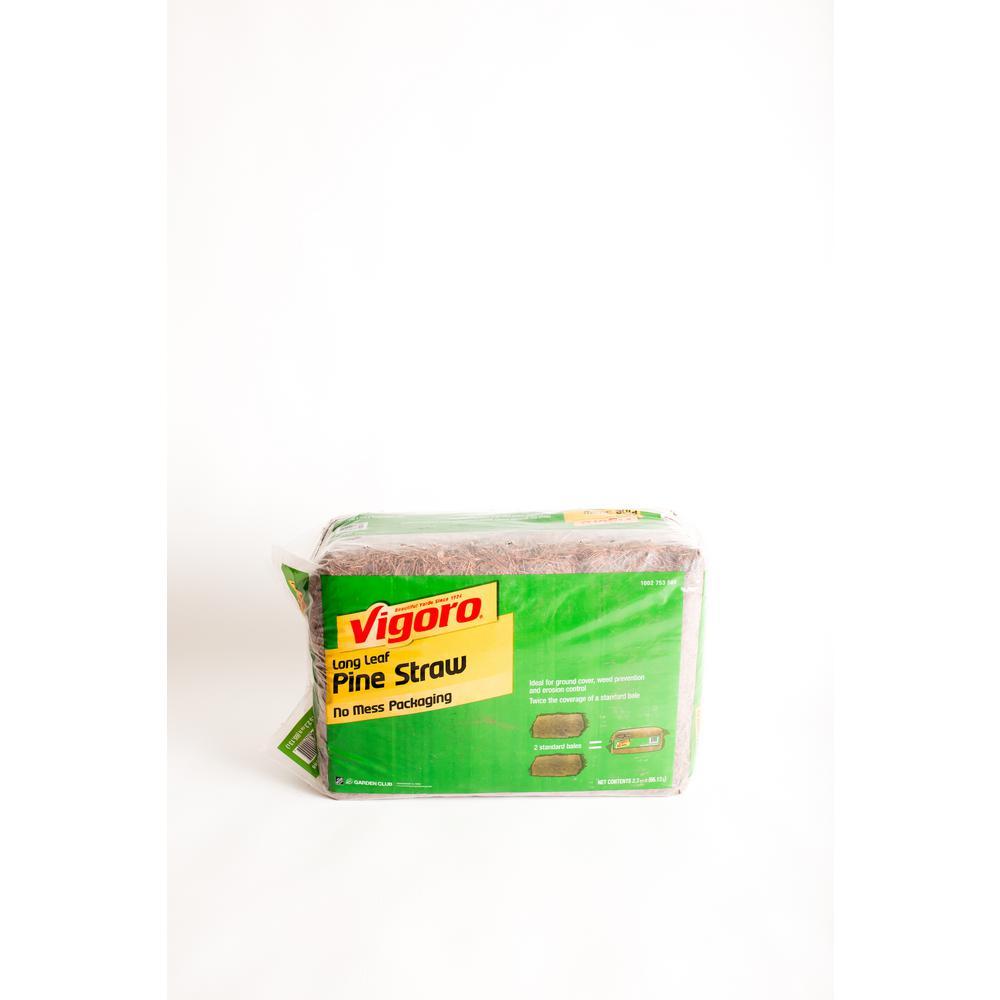 Vigoro Premium Long Leaf Bagged Pine Straw