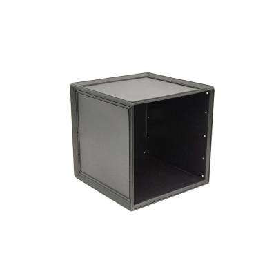 14.8 in. x 14.8 in. Black Storage Cube (2-Pack)