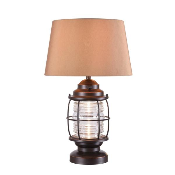 Beacon 26 in. Oil Rubbed Bronze Outdoor Table Lamp