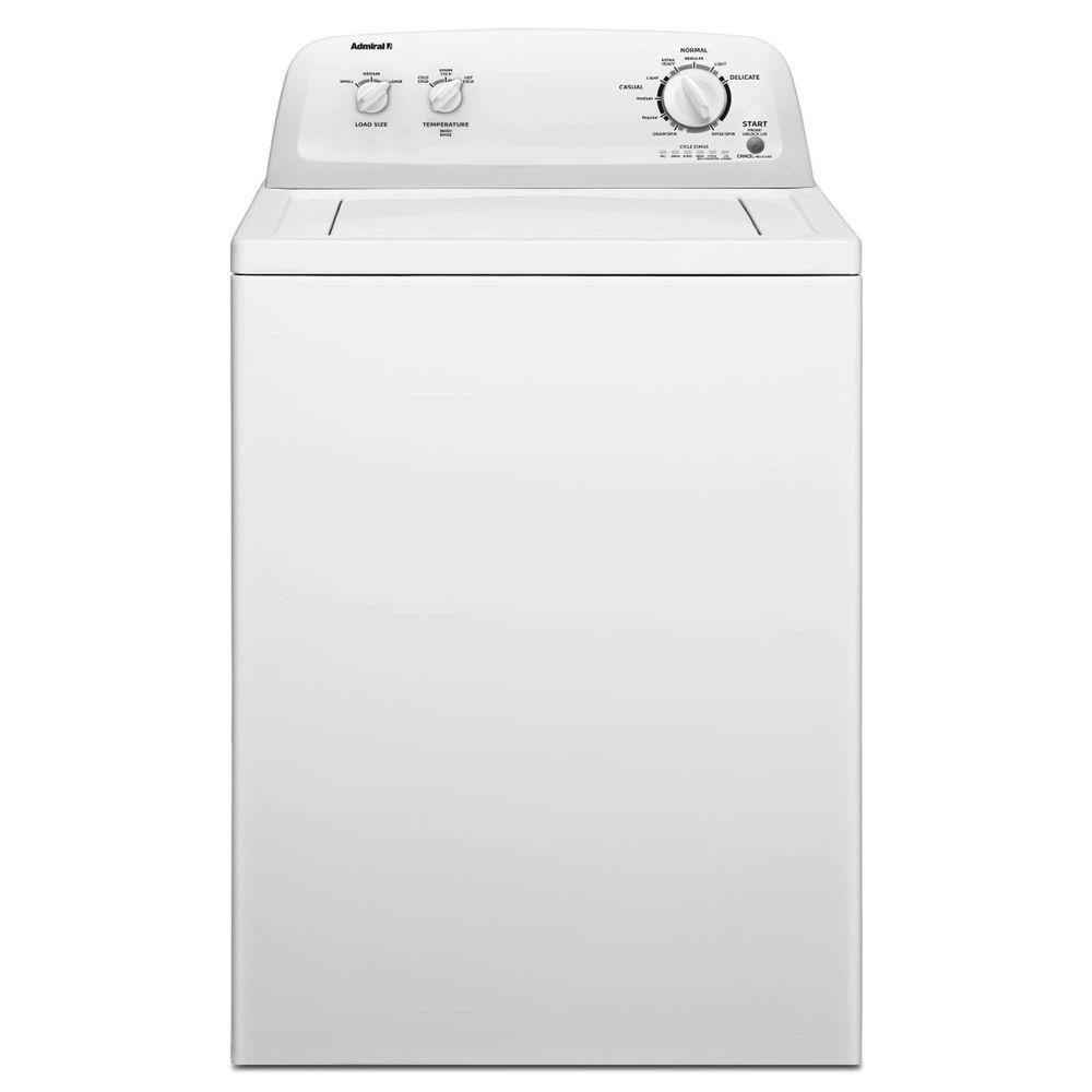 Admiral 3.6 cu. ft. Top Load Washer in White