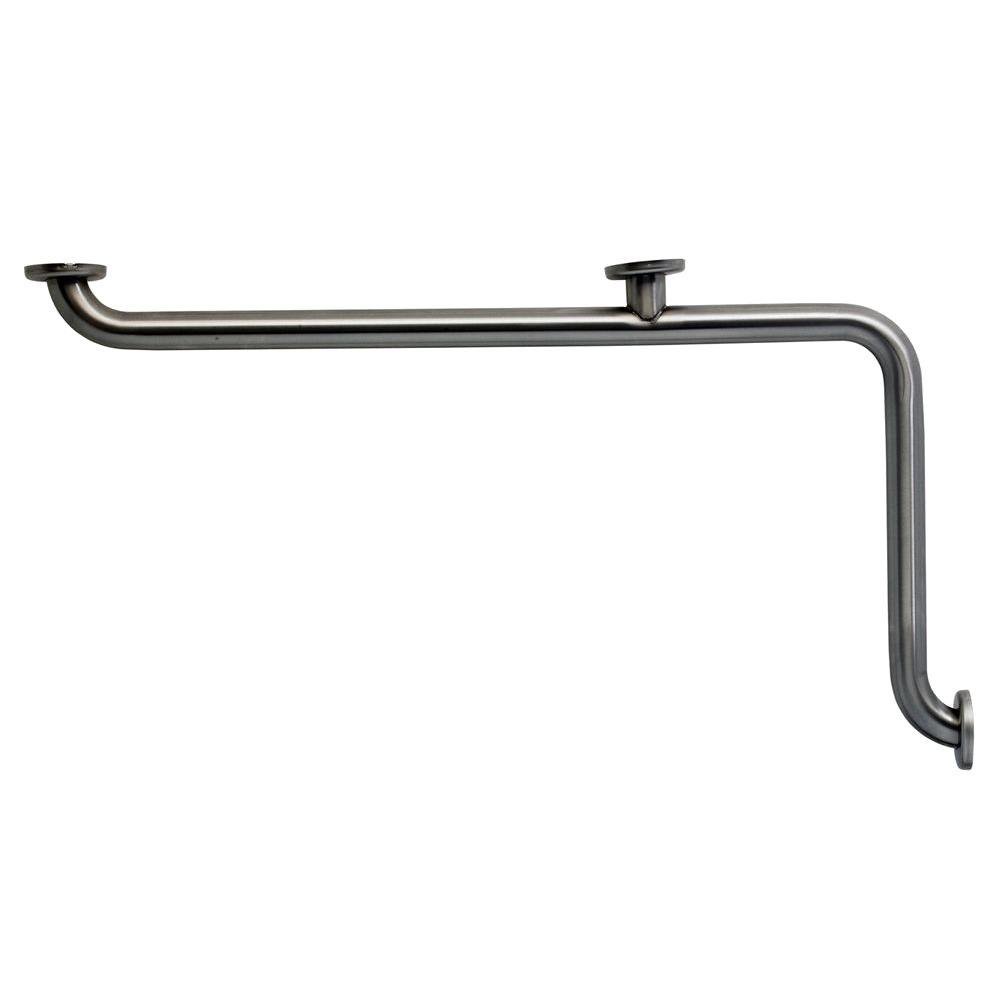 MUSTEE CareGiver 34 in. x 1-1/2 in. Stainless-Steel Concealed-Screw Grab Bar