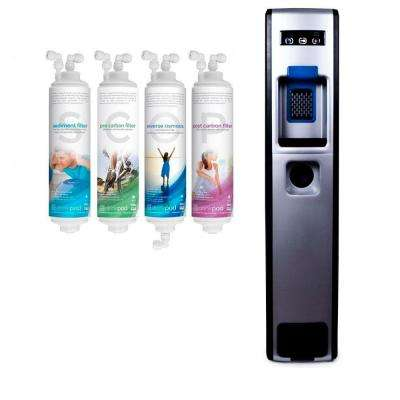 Bottleless Water Cooler - Multiple-Stage RO with Sediment, Pre Carbon, Reverse Osmosis and Post Carbon Filters