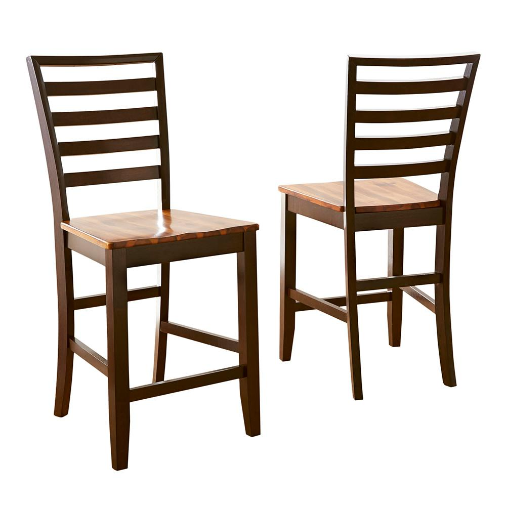 Steve Silver Abaco Counter Chair (Set of 2), Brown