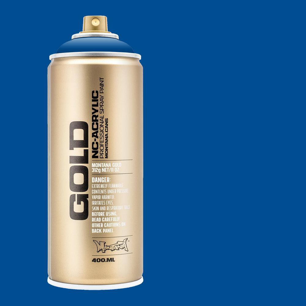 13 oz. GOLD Shock Blue Spray Paint